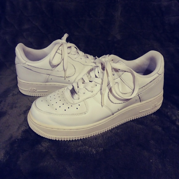Nike Air Force One White Men's Size 8